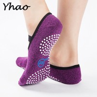 Quick-Dry Anti-slip Damping Bandage Yoga Pilates Ballet Socks