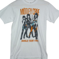 Motley Crue T-Shirt - World Tour White
