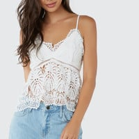 Picnic Date Crochet Top