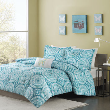 Mi Zone Melanie 4-piece Comforter Set | Overstock.com Shopping - The Best Deals on Teen Comforter Sets