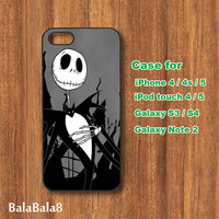 Sally and Jack -iPhone 4 case,iphone 4S case, iphone 5 Case,iPod 4,iPod 5 case,Samsung Galaxy S3 case,S4 case,note 2 case,Blackberry Z10,Q10