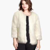 H&M+ Faux Fur Jacket - from H&M