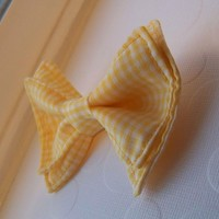 Yellow Gingham Bow Tie, Toddler Bow Tie, Bow Tie , Bowtie, Doctor Who Baby, Bow Tie Toddler, Mens Bow Tie, Newborn Bow Tie, Doctor Who