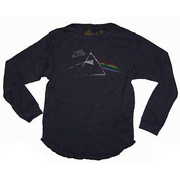 Rowdy Sprout Pink Floyd Dark Side Infant Vintage Thermal Shirt