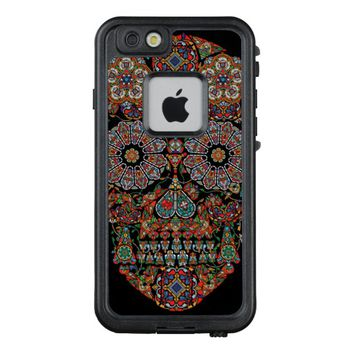 Flower Sugar Skull LifeProof FRE iPhone 6 Case