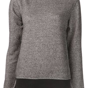 T By Alexander Wang Speckled Sweatshirt