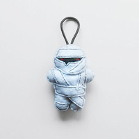 Halloween Mummy ornament, hanging stuffed mummy figurine, felt Halloween decoration and gift idea, cute hanging ornament