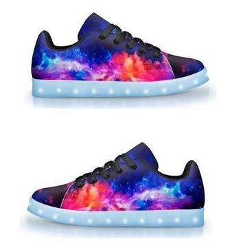 Dream Waves - App Controlled Low Top LED Shoes