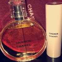 Chanel Chance Fragrance Set 1.7 Fl And Comes In Pink Chanel Bag