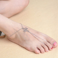 Ladies Jewelry Shiny Gift Cute New Arrival Sexy Stylish Accessory Summer Hot Sale Beach Vintage Metal Anklet [6768806471]