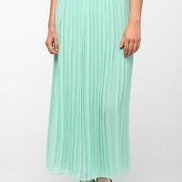 Sparkle & Fade Maxi Pleated Chiffon Skirt