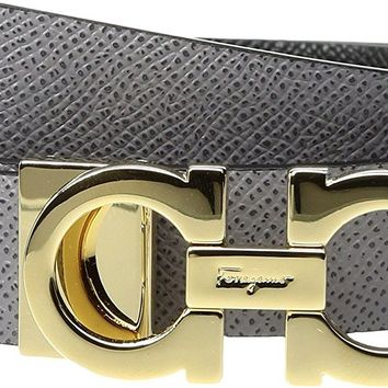 Salvatore Ferragamo Women's 23A565 Urban Grey Belt