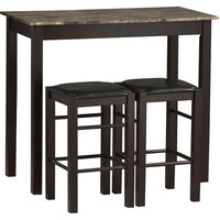 Walmart: Linon Home Decor Products, Inc. Tavern 3-Piece Set, Espresso