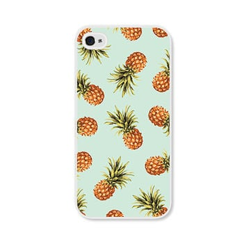 iPhone 6 Case Samsung Galaxy S6 Case Pineapple iPhone 6 Plus Case Mint iPhone Case Mint Tropical iPhone 5s Case iPhone 5c Case iPhone Cover