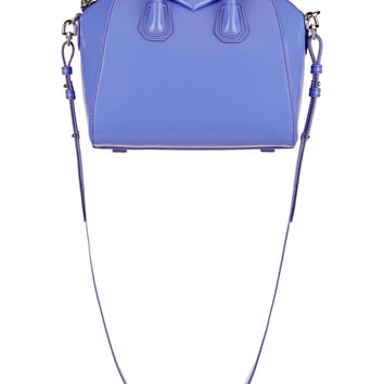 Givenchy - Mini Antigona bag in lilac calf leather