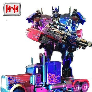 Tototoy Bmb Ls03f Transformation Movie Anime Figure Model Deformable Car Robot Op Commander Big Size Plastic Boy Toy