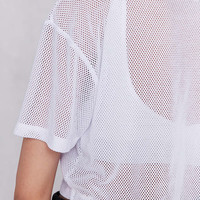 Truly Madly Deeply Mesh Tee - Urban Outfitters