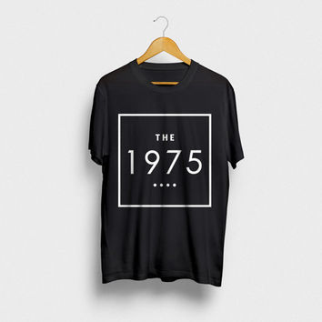 The 1975 Custom Printed Unisex T-shirt, Graphic Print, Slim Fit, Different Colors Available, Large Sizes Available (XL, 2XL, 3XL, 4XL)