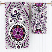 Casbah Printed Towels | Bathroom| Bed & Bath | World Market