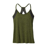 Patagonia Women's Cutaway Racerback Tank Top | Supply Green