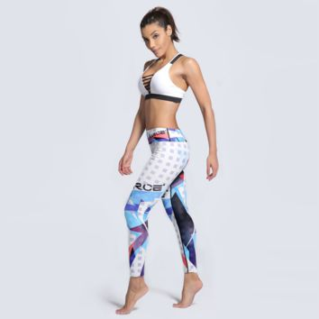 Women 3D Gym Leggings