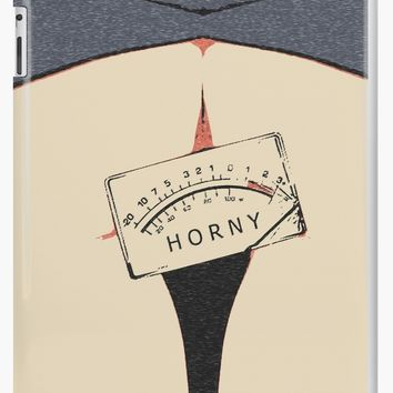 'NSFW! Horny - out of scale, humorous erotic' iPad Case/Skin by sexyjustsexy