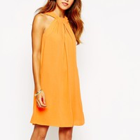 Warehouse Halter Swing Dress at asos.com