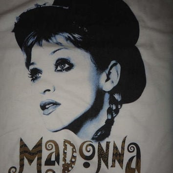 On Sale 25% Off Rare MADONNA The Girlie Show 1993  Winterland Shirt Vintage Pop Shirt