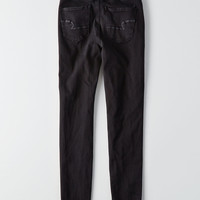 AEO Denim X4 Highest Rise Jegging, Dark And