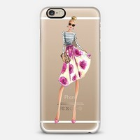 Macaron Shuffle (Transparent) iPhone 6s case by H. Nichols Illustration | Casetify