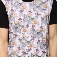 Wolf Pack Tee - Urban Outfitters