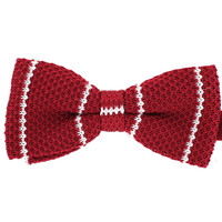 Tok Tok Designs Pre-Tied Bow Tie for Men & Teenagers (B270, Knitted)