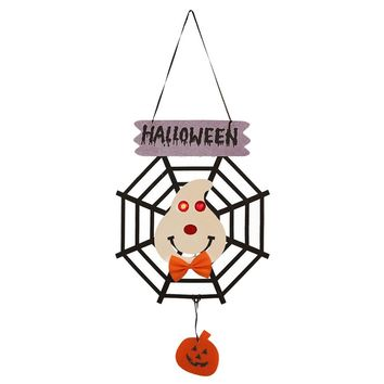Halloween Door Hanging Ghost Pumpkin Witch Halloween Door Hanging for Home Decor Party Holiday DIY Decorations Party Supplies
