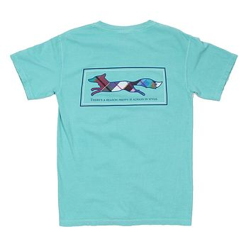 Longshanks Tee Shirt in Chalky Mint by Country Club Prep