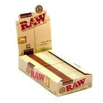 RAW 1 1/4 Organic Papers