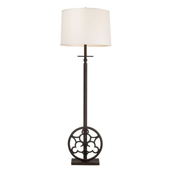 Ironton 3 Light Floor Lamp In Vintage Rust Vintage Rust