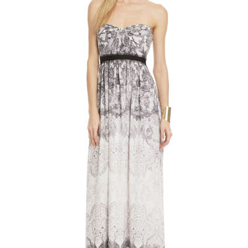 BCBGMAXAZRIA Lace All Night Gown