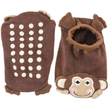 Monkey Body Infant Booties