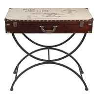 Bombay Heritage Belle Jardiniere Trunk Console Table