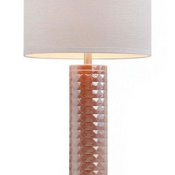 CREYON JALEXANDER FACETED GLASS TABLE LAMP