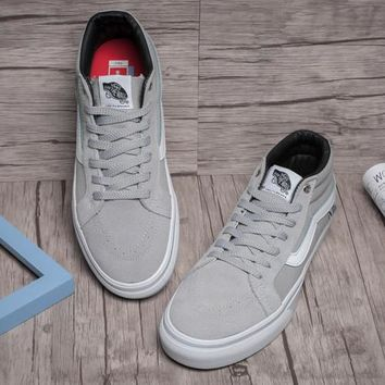 Trendsetter Vans SK8-Mid Pro Canvas Flats Sneakers Sport Shoes
