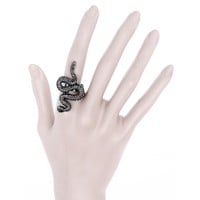 Snake Ring - Symbol of rebirth - Occult Witchcraft Snake Ring