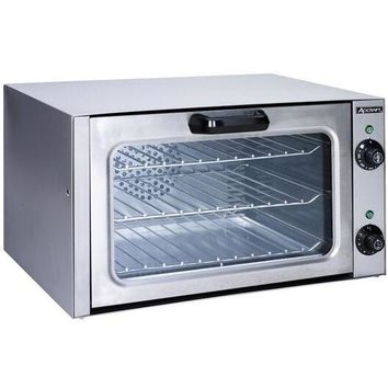Stainless Steel Countertop Convection Oven Quarter Size
