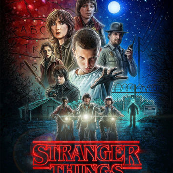 Stranger Things Movies Poster Style A (2016)