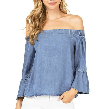 Daylight Off Shoulder Blouse