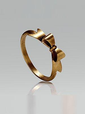 [sold out] zz obsolete brand - Moulin Rouge Bow Ring - Saks.com