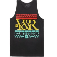 Young & Reckless Akeem The Dream Tank Top - Mens Tee - Black -
