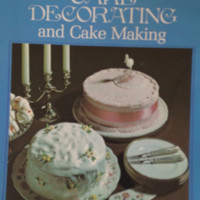 Woman's Own Book of Cake Decorating and Cake Making, British Cookbook
