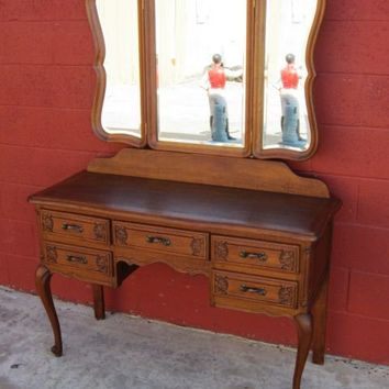 Antique Furniture French Antique Vanity Antique Dresser Desk