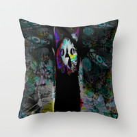 TUTU TIME MAZUNI STYLEE Throw Pillow by MADAME MAZUNI